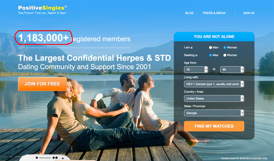Hsv dating site review