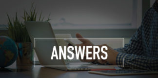 image of person looking for answers