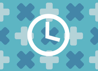 clock on medical background; when to get tested for gonorrhea